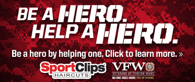 Sport Clips Haircuts of Ellisville​ Help a Hero Campaign